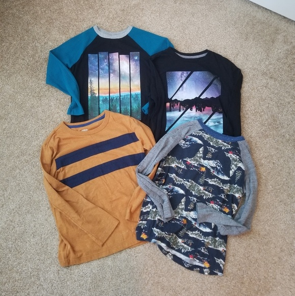 Old Navy Other - Old Navy & H&M Long Sleeve Boys Top
